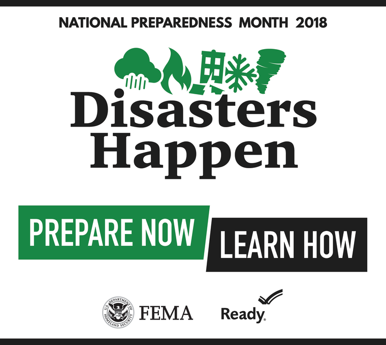 September is National Preparedness Month 2
