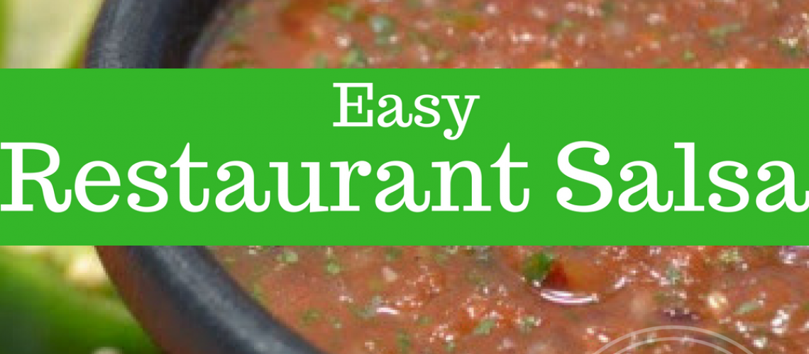 Easy Restaurant Salsa, salsa, spicy, backyard eden, www.backyard-eden.com