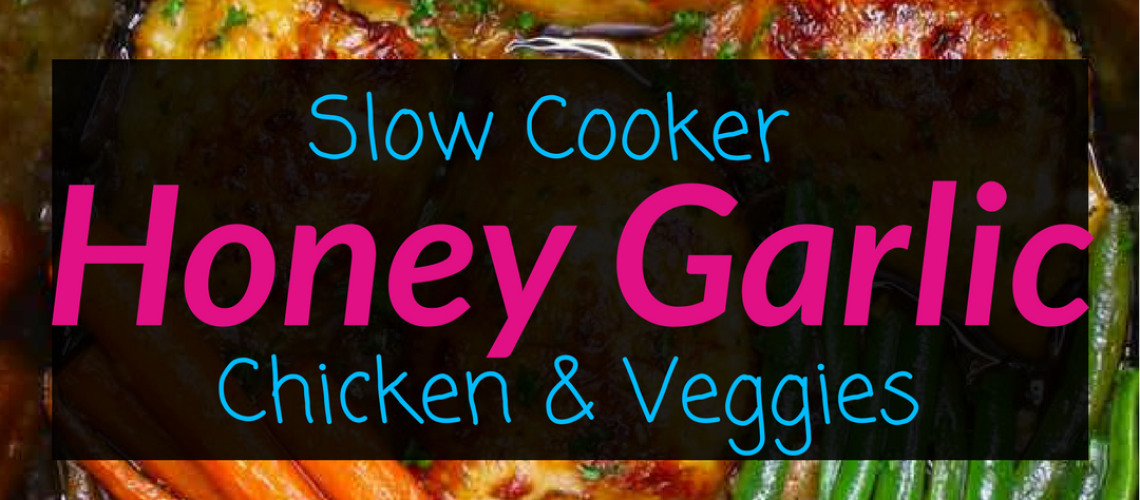 Slow cooker honey garlic chicken and veggies 2